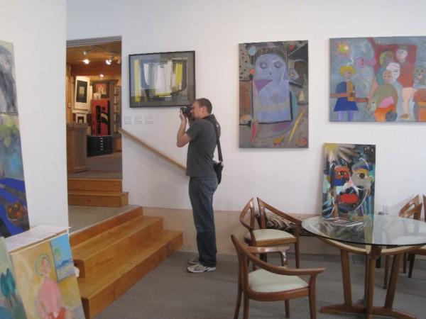 Adam in the Hand Artes Gallery