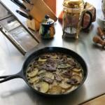 Potato/Mushroom Pie