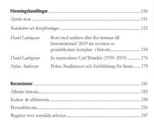 HLFÅ 2020, innehåll (2)