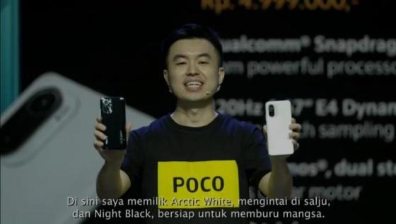 POCO F3 5G.  (Poco Indonesia)