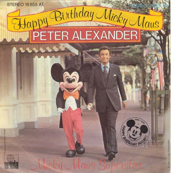 Peter Alexander Happy Birthday Micky Maus Austriancharts At