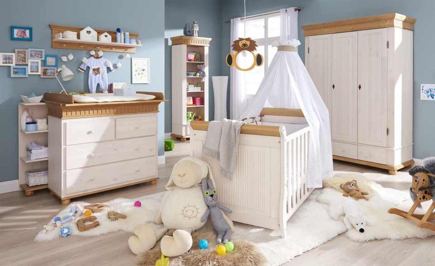 Kinderbett BORNHOLM - Stellbeispiel