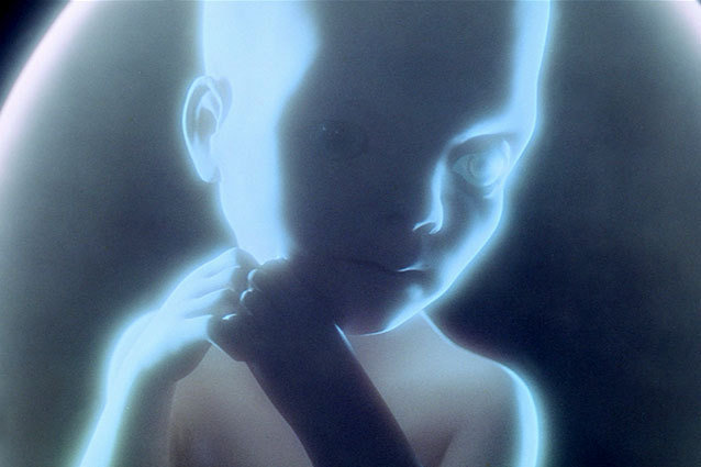 Image result for space baby 2001