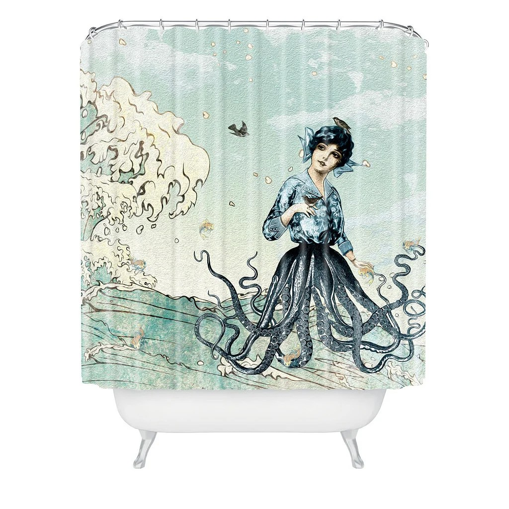 8 intriguing shower curtains to perk up