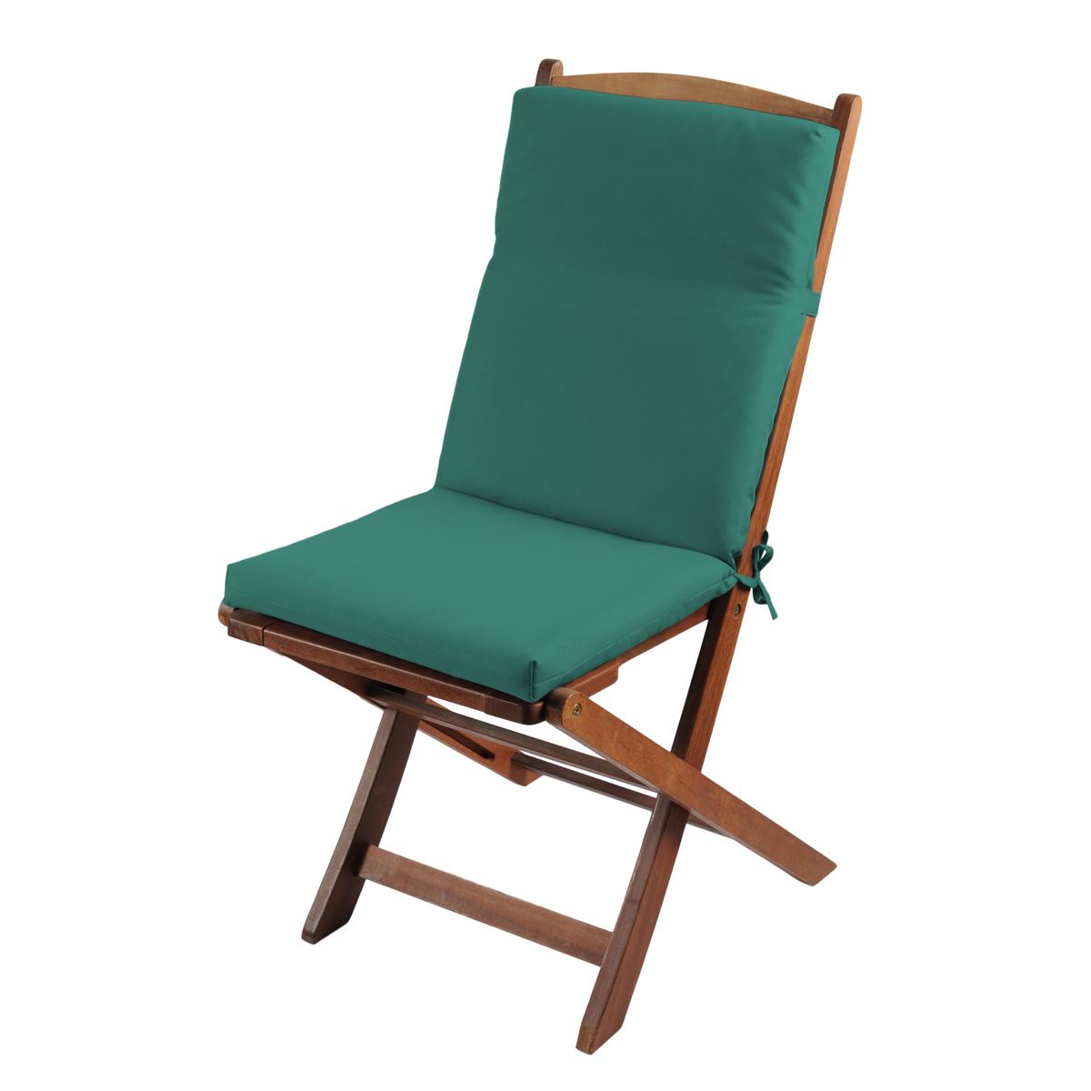 galette chaise cm vert