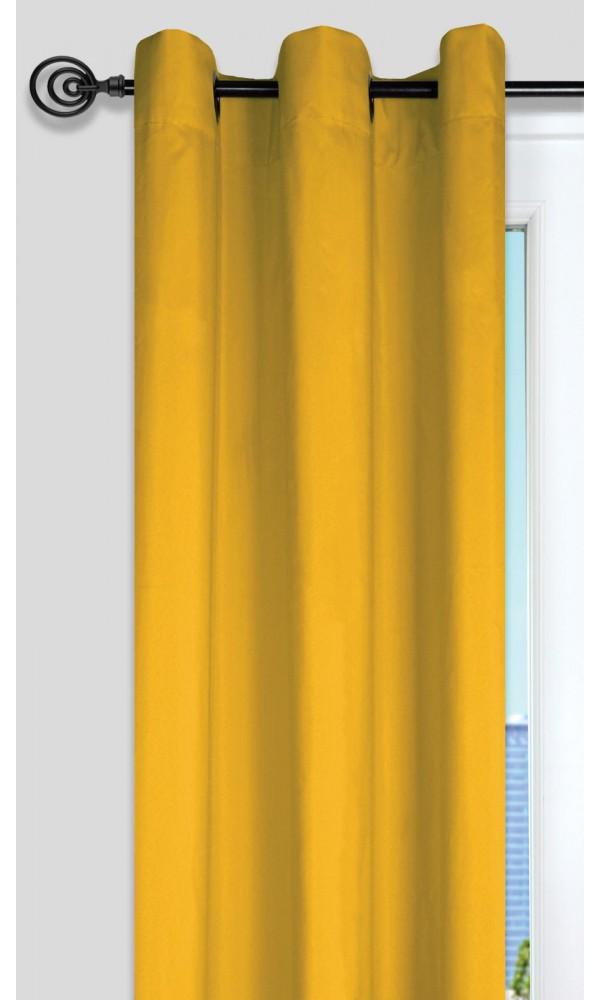 rideau cm jaune