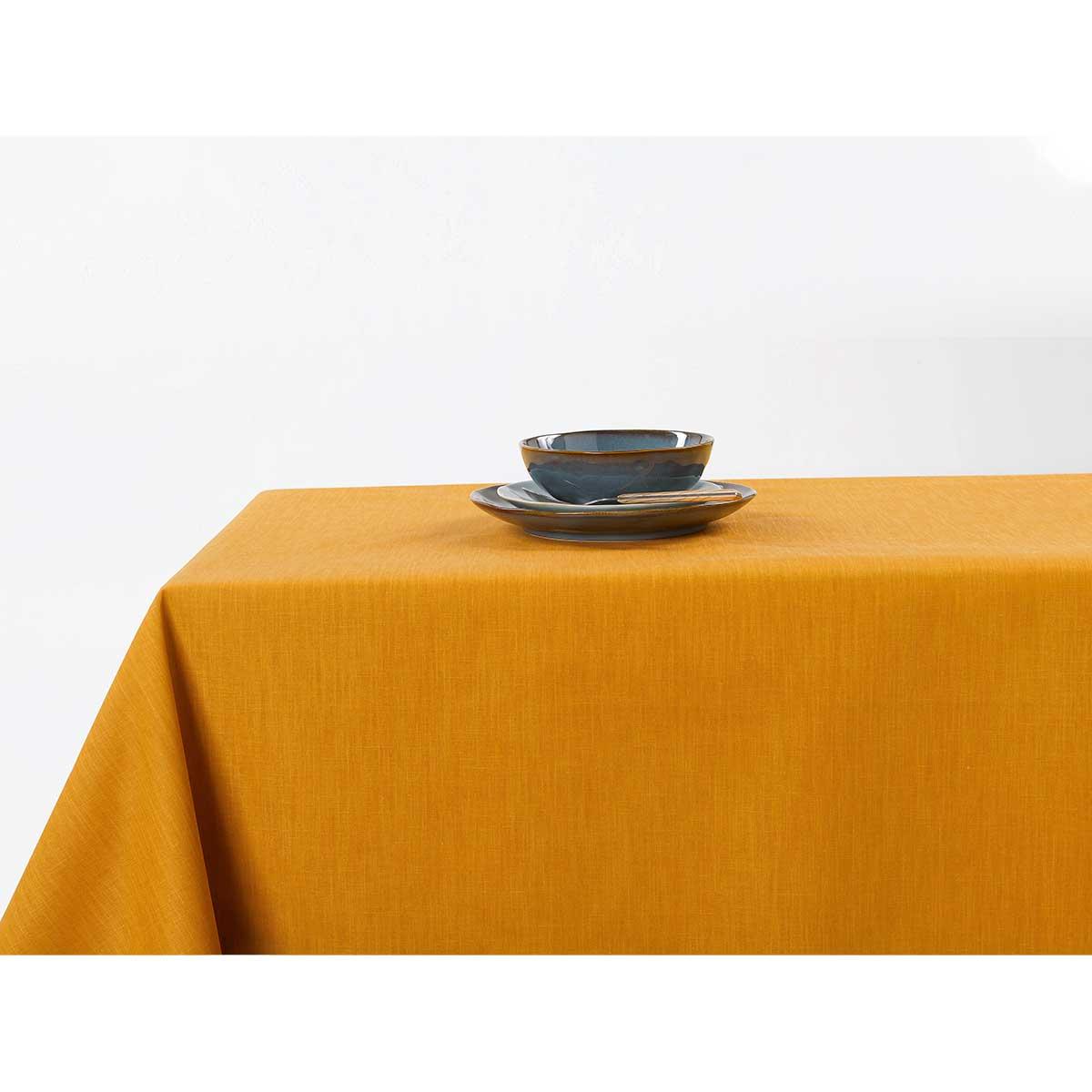 nappe enduit jaune