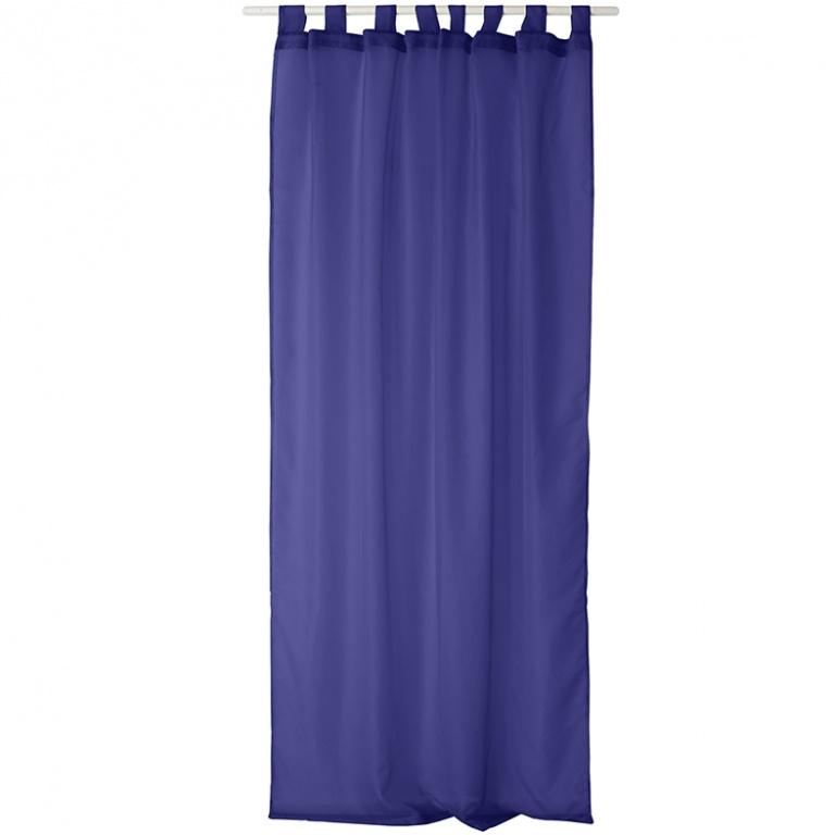 voilage uni en polyester 8 pattes