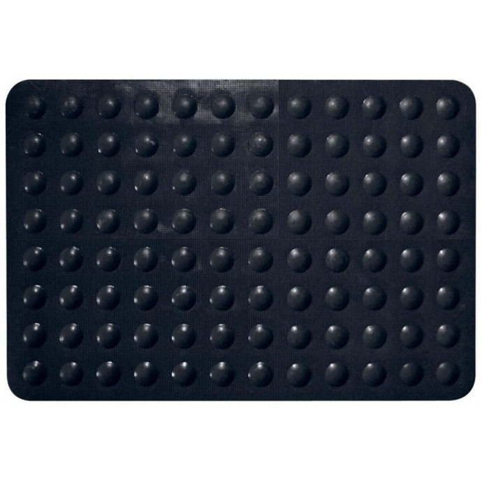 tapis antiderapant color noir noir