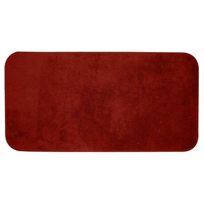 tapis de bain trendy grand format rouge rouge