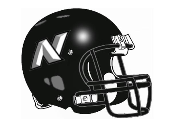 Knidhts North Football Helmet Webster