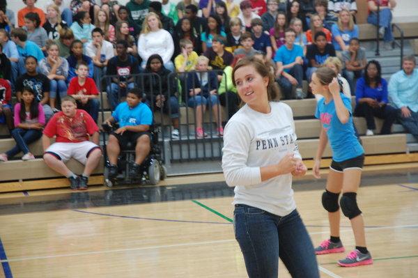 Miller Middle School Cheerleading Grove
