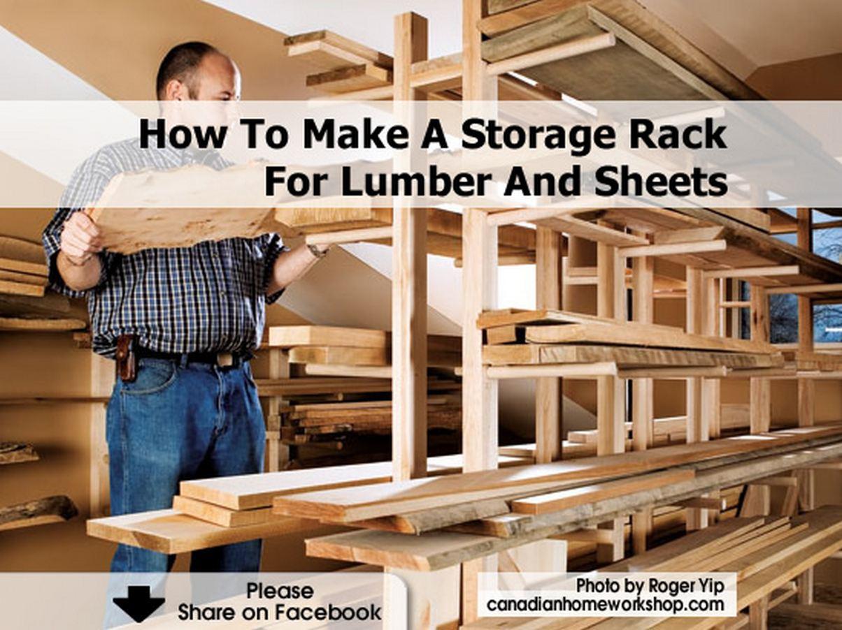 Wooden Garden Storage