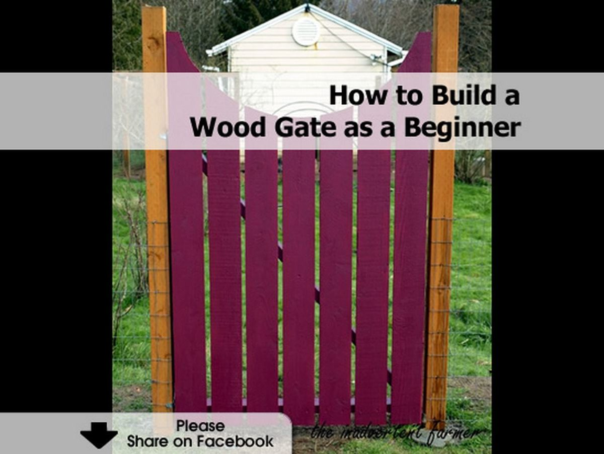 Building Garden Gate Wood