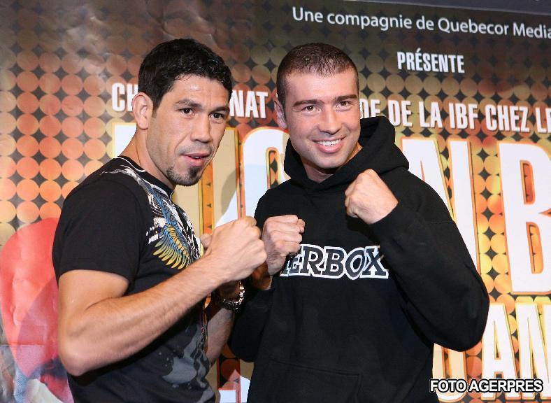 Lucian Bute&Librado Andrade-foto HotNews