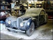 Bugatti-ul a stat in garaj 47 de ani