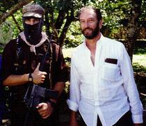 Saul Landau si Subcomandantul Marcos in Chiapas (Mexic)