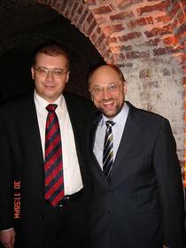 Dan Mihalache si Martin Schulz