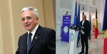 Guvernatorul BNR Mugur Isarescu si ministrul Finantelor Eugen Teodorovici