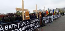 protest al padurarilor