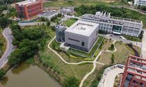 Laboratorul P4 (centru) al Institutului de Virusologie din Wuhan