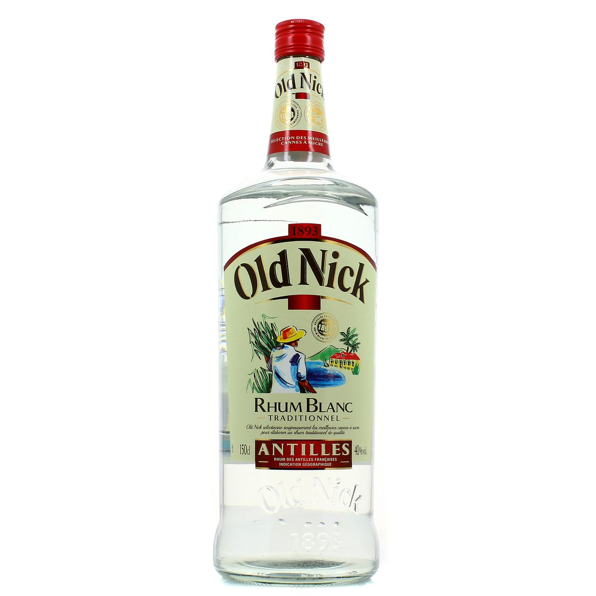 livraison a domicile old nick rhum blanc 40 150cl