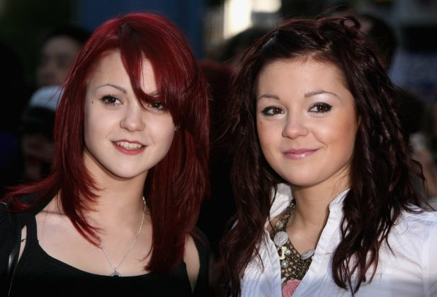 """Megan and Kathryn were Emily and Katie in """"skins"""".  (Photo: Getty)"""