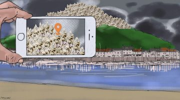 Apple's island hoping