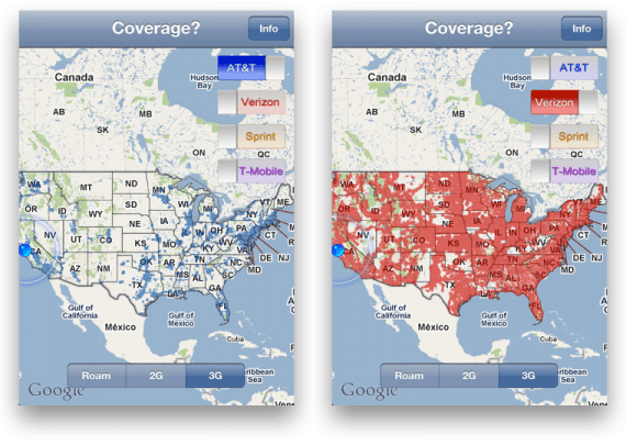 Coverage Sprint Nationwide
