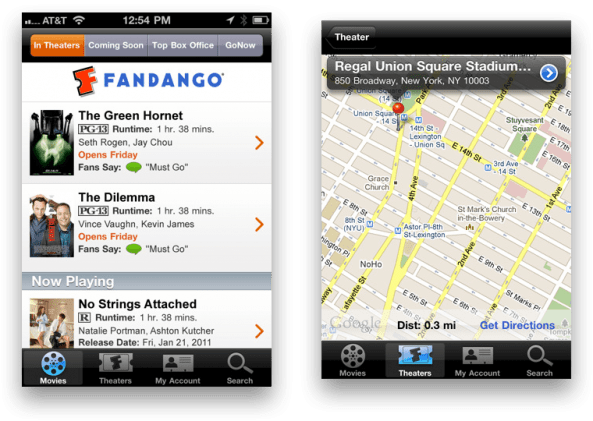 Image result for fandango app