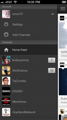 YouTube 1.1.0.4136 para iOS (iPhone screenshot 002)