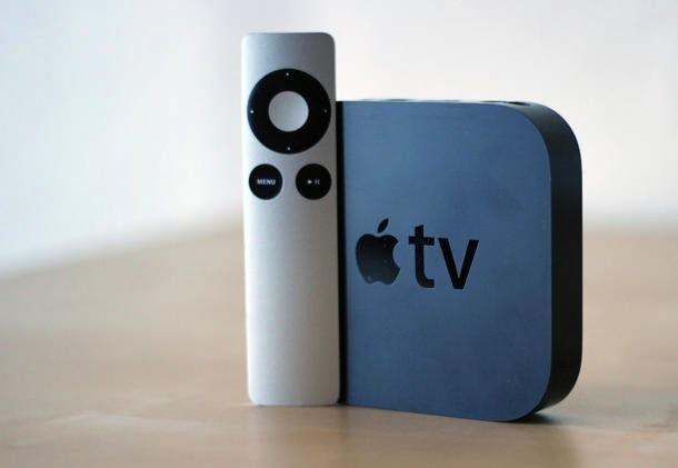Apple TV Standing