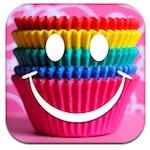 Party Cupcake Recipe Icon