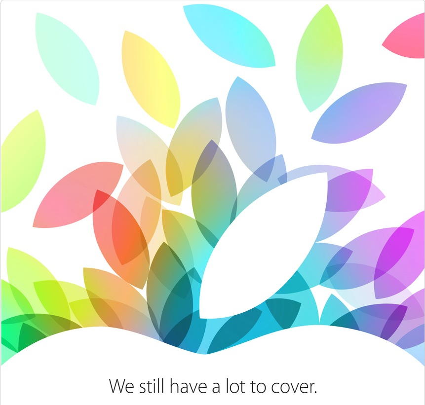 Apple October 2013 media event