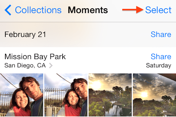 Select Moments