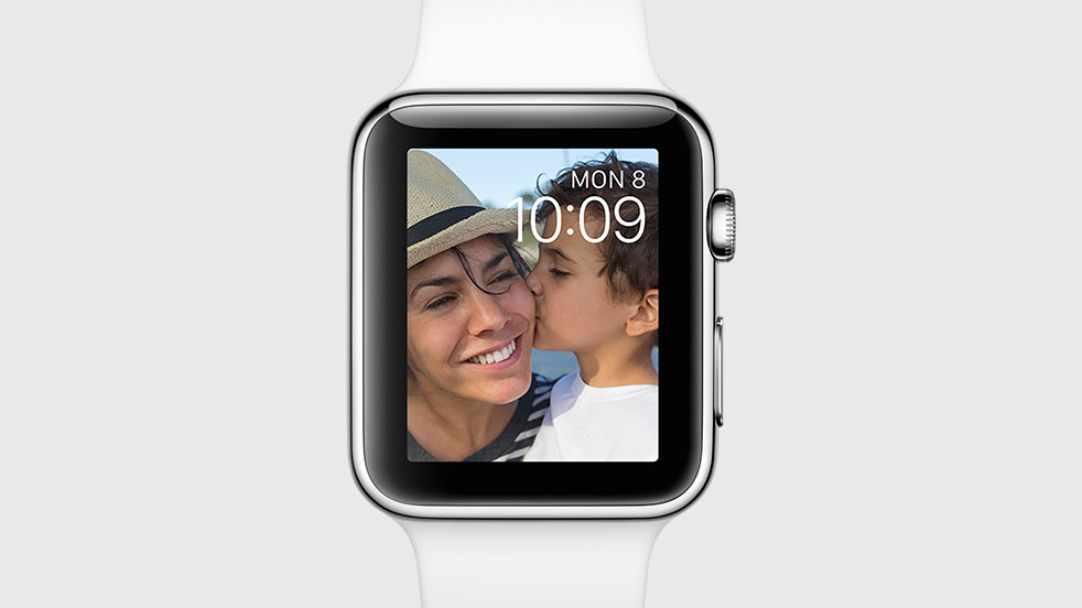 Watch face photo