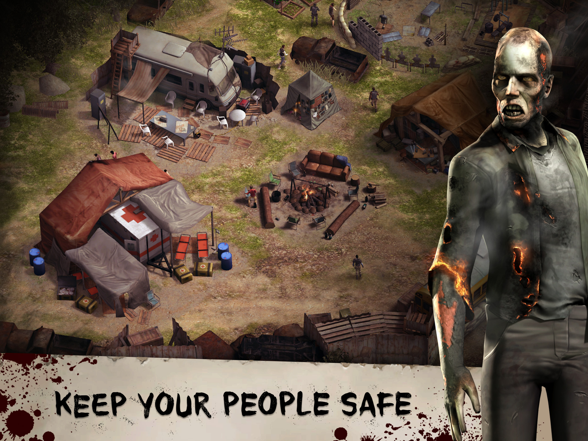 Inaugural Trailer For The Walking Dead No Man S Land For