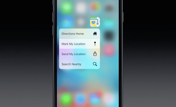 3D Touch Maps