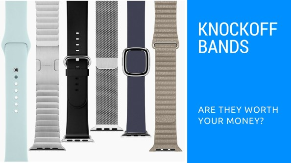 Apple watch knockoff bands