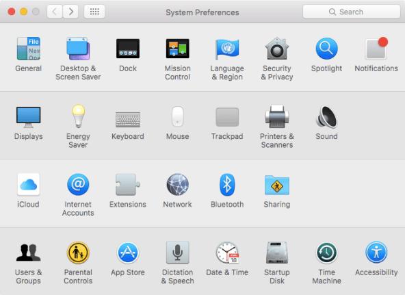 OS X El Capitan System Preferences customize Mac screenshot 002