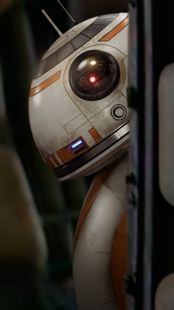 Star Wars The Force Awakens Wallpaper BB8