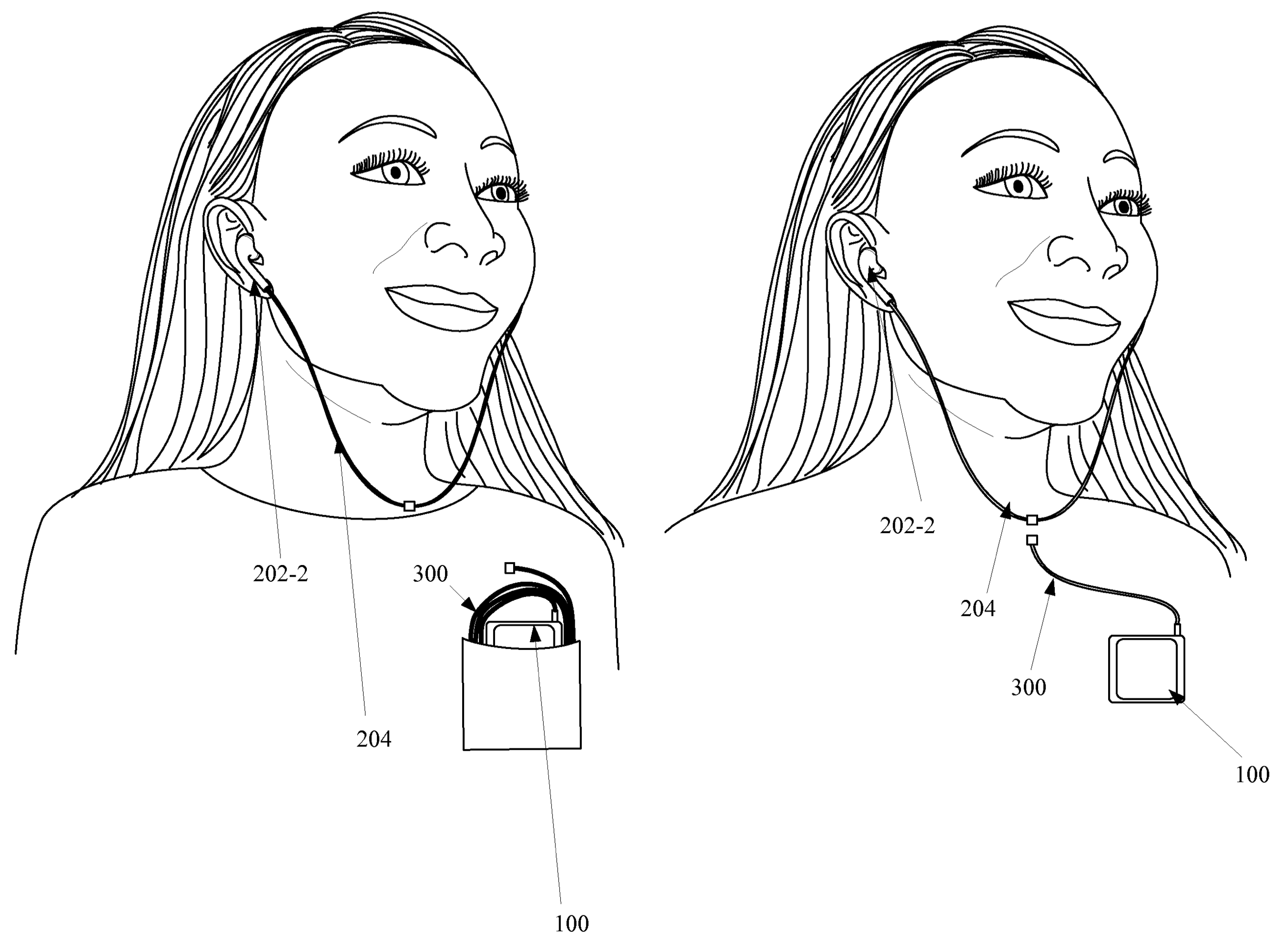 Apple Patents Hybrid Wireless Wired Earbuds For Iphone