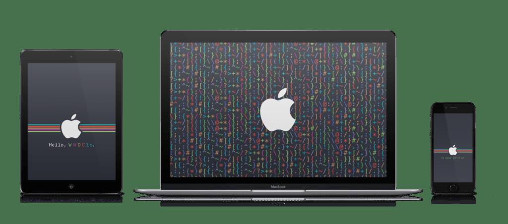 WWDC 2016 code wallpapers