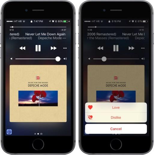 iOS 10 Khóa màn hình Now Playing iPhone chụp màn hình 001
