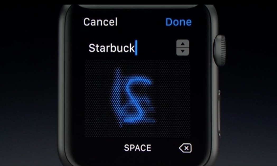 wwdc 2016 watch scribble