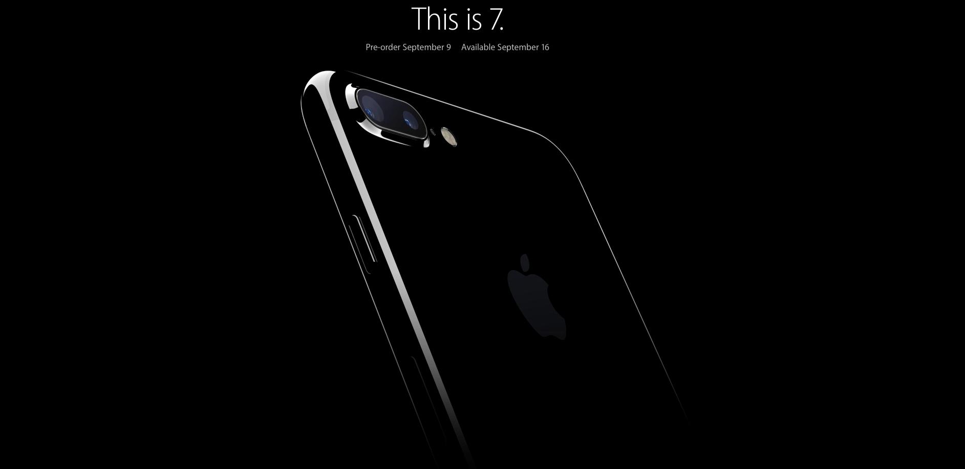 Resultado de imagem para banner iphone 7 apple