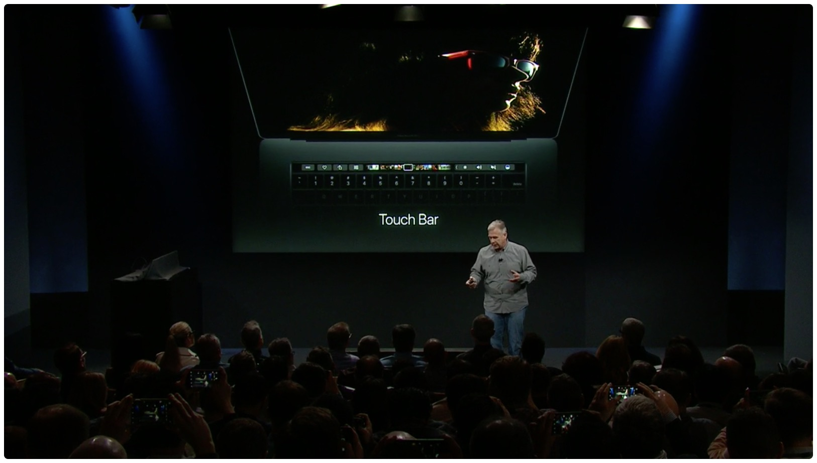 hello again event macbook pro touch bar