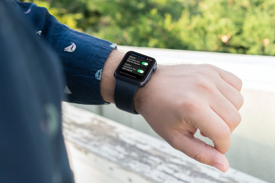 Apple Watch Wake Screen On