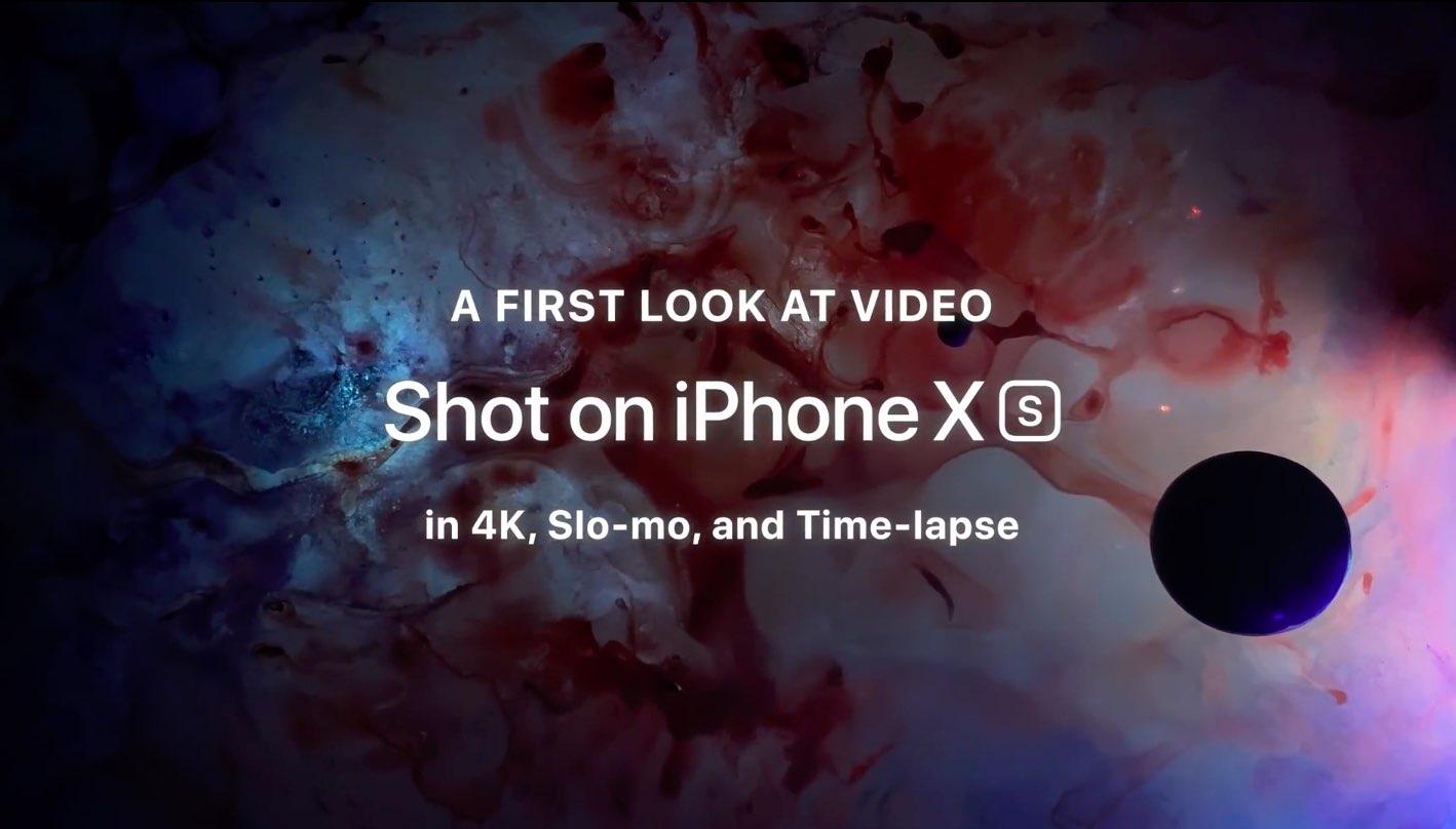 iPhone Xs camera demo