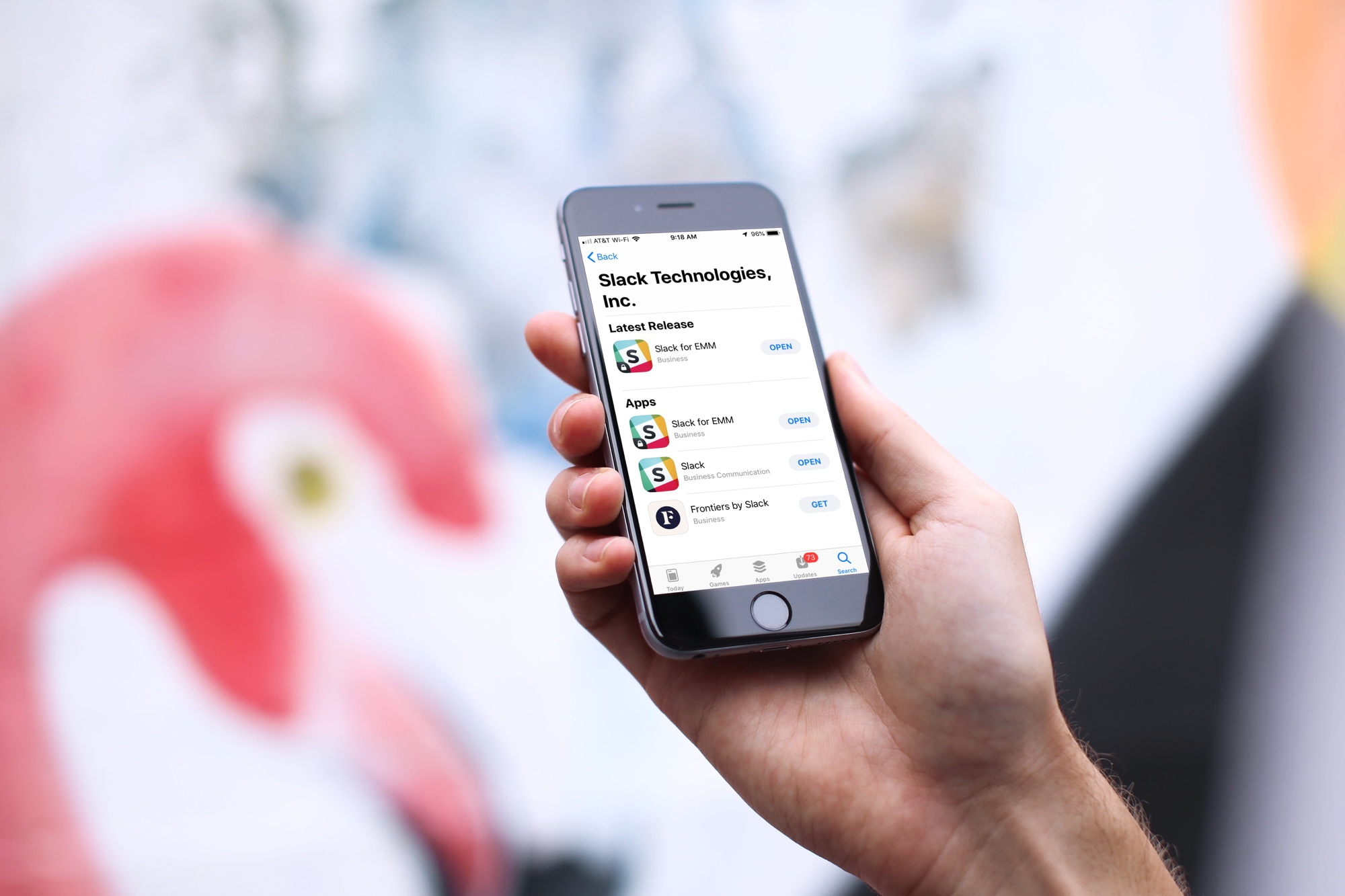 Slack Apps on iPhone